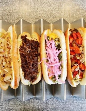 Jeff's Gourmet Sausage Factory in Los Angeles, CA — Burgers and Hot Dogs