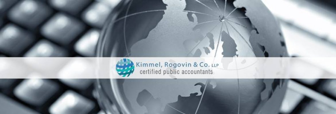 Kimmel, Rogovin, and Co. LLP in Encino, CA — Accountancy Firm