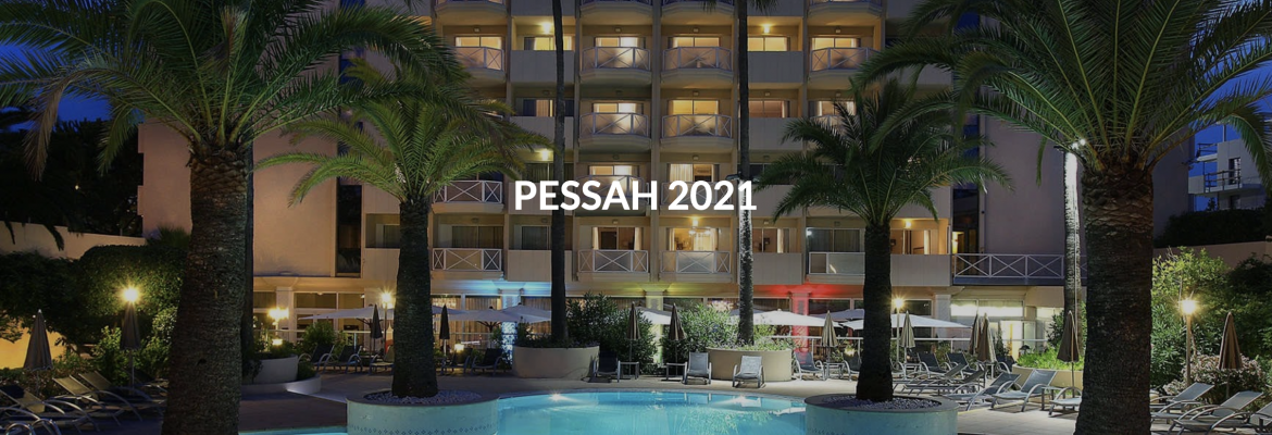 Club Paradise Passover Program 2022 in the French Riviera