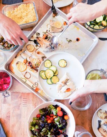 Prep + Rally – Family Meal Prep Service